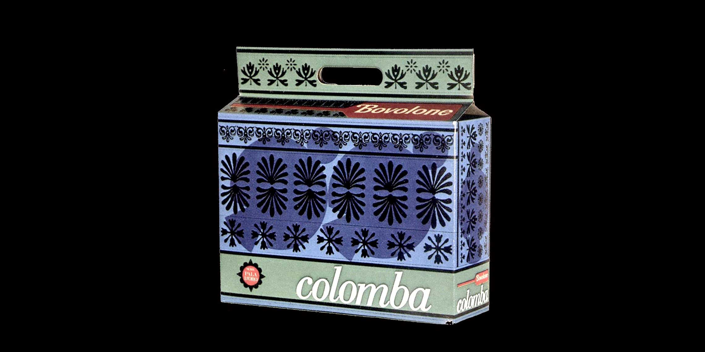 Colomba Bovolone, <em>Packaging</em>, anni '70